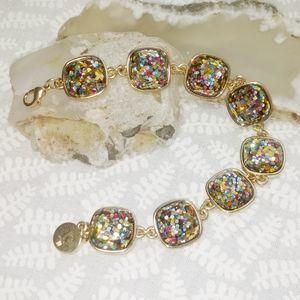 Liz Claiborne Sparking Confetti Bracelet NWT